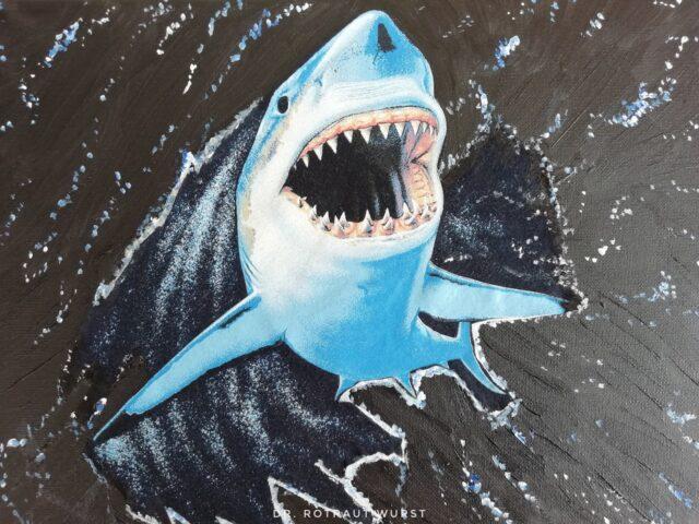 Der große weiße Hai von Dr. Rotraut Wurst